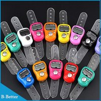 Wholesale Digital Electronic Muslim Finger Ring Tally Counter Tasbeeh Tasbih Golf Temple Finger Counter Muslim Counter