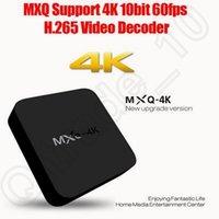 Wholesale MXQ K Wifi TV BOX Rockchip RK3229 Quad Core IPTV Kodi15 Android TV Box Kitkat Airplay Miracast Box CCA5579