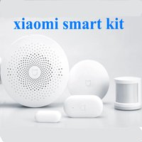 Wholesale Xiaomi Smart Home Automation Kit Smart Home Door Window body Motion Pir Sensor wifi network Remote Switch via IOS Android