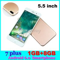 Wholesale 3G WCDMA Unlocked plus inch Android MTK6580 Quad Core Smartphone Dual SIM GB GB Mobile phone