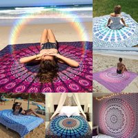 Wholesale Styles Large Retro Indian Mandala Tapestry Wall Hanging Printed Beach Throw Towel Yoga Mat Shawl Bedding Outlet Home Decor