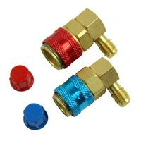 Wholesale AUTO AC R134a Quick Connector Adapter Coupler with Low High HVAC