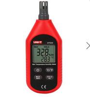 Wholesale UNI T UT333 Mini LCD Digital Thermometer Hygrometer Air Temperature and Humidity Meter Moisture Mete