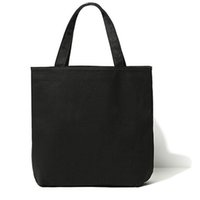 Wholesale CC LOGO Fashion Women Black Canvas Bag Handbag High Volume Tote Bag Shopping bag