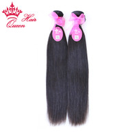 Wholesale Best Quality quot Virgin Brazilian Natural Straight Hair Human Hair Weave Tangle Free No Shedding