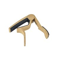 acoustic banjo - New Wood Grain Acoustic Guitar Capo For Guitar Ukulele Banjo Mandolin
