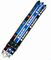 Wholesale Fashion Jewelry Key Chains MIX Motorcycle Logo key lanyard ID badge Holders mobile neck strap keychains