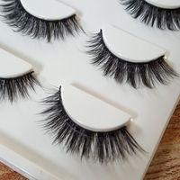 Wholesale Hot sale Sexy Handmade D mink hair Beauty Thick Long False Mink Eyelashes Fake Eye Lashes Eyelash