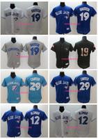 Baseball Men Short 2017 New arrvial Flexbase Baseball Jerseys Toronto Blue Jays #12 Alomar #19 Bautista #29 Carter All 2017 Polyester Flexbase Stitched Jerseys