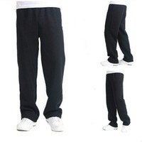 Wholesale New Arrival Men leisure men cotton sweat pants plus size men s pants Hot Sale