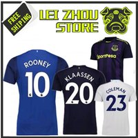707412fc041 Thai Quality 2017 2018 Everton home blue soccer jersey 17 18 SANDRO ROONEY  MIRALLAS BAINES NAISMITH OVIEDO away football uniform shirts