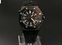 Répliques de cas noirs de marque de nouvelles chaudes de mode de DATE de mode de luxe pour le poignet montre les montres automatiques des hommes automatiques d'acier inoxydable