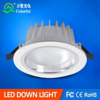 acryl paints - Free shiping W W W W LED Downlight SMD5730 AL PMMA White Paint Recessed downlight
