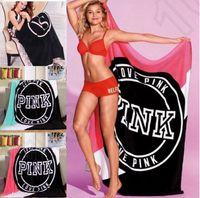 Wholesale VS Pink Blankets Pink Letter Blanket VS Secret Bed Fashion Fleece Bedding Sofa Air Condition Bedspreads OOA1428