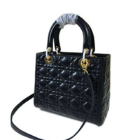 Wholesale Luxury Lady Bag Genuine Leather Desinger Bag Famous Brand Women Christian Handbag Flap Shoulder Grid Grid Bag sacos de marca D12
