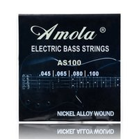 Wholesale Freeshipping Amola AS100 Electric Bass Strings Steel Stings Wholesales