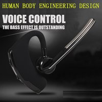 auto answer android - High Quality Bluetooth Wireless Bluetooth Headset Earphone Voice Command Auto answers for iphone Android Busiess Work