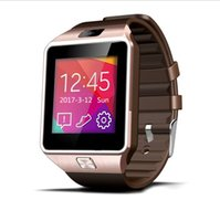 Wholesale DZ09 Smart Watch Bluetooth Connection Smart Phone SIM Phone Step Gauge Healthy Sleep Anti Lost Positioning Smart Watch Facebook Twitter