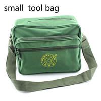 Wholesale Small Tool Bag Shoulder Canvas Repair Kit belt bag for tools toolbox repair kit tools pocket