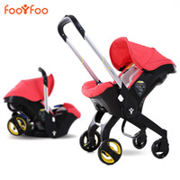 babies sleeping in car seats - Baby Stroller in Newborn Infant Sleeping Basket Baby Safety Car Seat Baby Carriage Easy Folding Pram M2