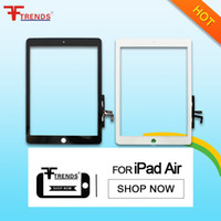 air quality test - BLACK WHITE Glass Touch Screen Digitizer Replacement for iPad Air st High Quality AAA Tested