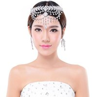 Wholesale Wedding Crowns Tiaras Quinceanera Hair Accessories Jewelry Bridal Headpieces For Brides Princess New Forehead Silver Crystal