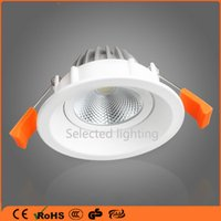 Wholesale 3inch inch Not Dimmable LED Recessed Lighting Fixture W7W15W K Warm White LED Ceiling Light High Lumens COB Recessed Down Lights