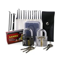 Wholesale New Arrival Pin Transparent Practice Door Lock Plum Blossom Lock Civil Lock Repairing Tools Door Hardware