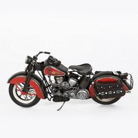 Wholesale Hand made Tin Metal FL Motorcycle Model antiqued model novelty Decoration
