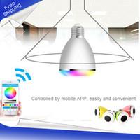 app good - 2017 New good Product Wireless Bluetooth Speakers APP Controlled Bluetooth Smart LED Bulb Speaker Bluetooth LED Light