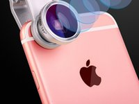 Wholesale Cell Phone Fish Eye Len and Telescopes For iphone pink and fashion high definition convenient