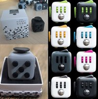 Big Kids Multicolor Plastic 13 Colors Top Quality Matte Novelty Fidget Cube Toy Stress Relief Focus For Adults and Children Decompression Anxiety Toys Best Gift