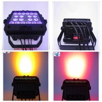 banquet equipment - 6xlot led wall washer rgbwa uv in1 x18w outdoor uplighing light for party banquet equipment