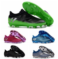 Wholesale Soccer Boots Messi Pureagility FG AG Football Boots New Mens Soccer Cleats For Men Best Quality Soccer Shoes Football Shoes Cleats