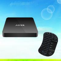 Wholesale A95X GB GB Android TV Box Amlogic S905 Quad core Five Core Mali MP GPU k k Kodi