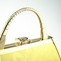 beach style pillows - Japan style Golden Princess DJ evening dinner Bag Handbag Bag dress beach Yingbin model MS KTV