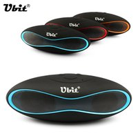 Wholesale Ubit New X6U Mini Portable Speaker Wireless Bluetooth Speakers FM with Strong Bass Portable Audio Player Support TF Card