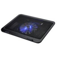 Wholesale Radiator laptop notebook cooler laptop cooling pad laptop fan laptop cooler pad big LED light fan usb laptop cooler
