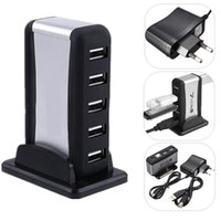 ac adapter laptop accessories - High Speed USB Port Hub AC Power Adapter for PC Laptop M2 Computer Accessories CAS_31I