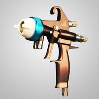Wholesale Professional Chrome spray gun SGH S2 PE double nozzle manual spray gun for chrome painting free DHL shipping
