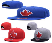 Wholesale 2017 New Top Quality Toronto Blue Jays Snapback Hats Personality Adjustable Baseball Caps