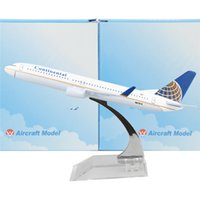 american airline plane - American Continental Airlines model plane Boeing cm Arplane Child Airplane Models Toys Birthday Christmas Gift For Mens