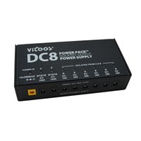 Wholesale Guitar Effect Pedals Power Supply Eight Isolated Output Way DC V Way v v vSwitching voltage protection