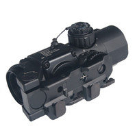 Wholesale Tactical x Fixed Dual Role Optic Rifle Scope Airsoft Scope Magnificate Scope Fit mm Weaver Picatinny Rail For Hunting