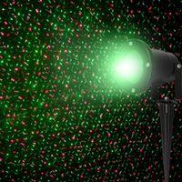 Wholesale Outdoor IP65 RG Waterproof Latest Elf Laser Light Outdoor Christmas lights projector garden grass landscape decorative lights