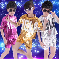 Wholesale Children s costumes new jazz dance private show children s modern dance hip hop clothing