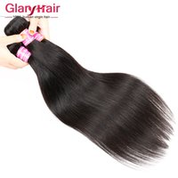 arrival hair braids - New Arrival Virgin Straight Brazilian Hair Bundles Peruvian Human Hair Weave Bundles Cheap Indian Malaysian Human Braiding Hair Extensions