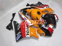 Tres regalo hermoso libre y nuevo ABS de la alta calidad fijaron el sistema para HONDA CBR600 91-94 CBR 600 F2 1991 1992 1993 1994 rojo negro naranja repsol