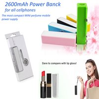 battery emergency charger cellphone - for iPhone7 Portable cellphone powerbank mAh perfume Power bank Emergency Power Battery charger for cellphones
