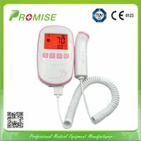 Wholesale Promise New Design CE Fetal Doppler inch LCD Display Baby Fetal Heart Rate Detector Portable